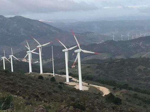 Instalación de parques eólicos